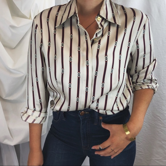 22ece4552f3bd Brooks Brothers Tops - BROOKS BROTHERS  silk blouse